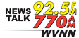 News Talk 770 AM / 92.5 FM WVNN