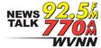 News Talk 770 AM / 92.5 FM WVNN